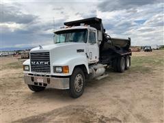 1993 Mack CH613 T/A Dump Truck W/Rock Box