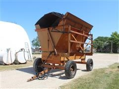 Richardton 1200 Hydraulic 4-Wheel Dump Wagon W/Top