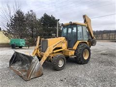 John Deere 410C Loader Backhoe