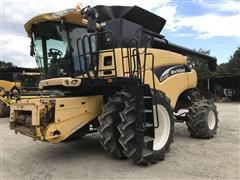 2004 New Holland CR970A Twin Rotor Combine