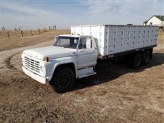 1976 Ford F750 T/A Grain truck