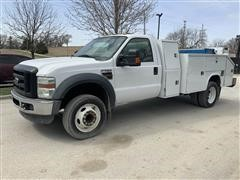 2008 Ford F550XL Super Duty 2WD Service Truck