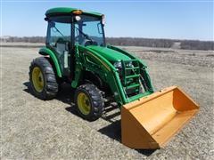 2007 John Deere 4720 Compact Utility Tractor