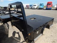 2014 Lamar 8' Skirted With Front Side Toolboxes Flatbed