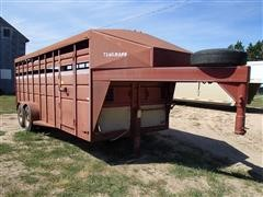 1990 Trailman Livestock Trailer