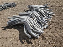 """Aluminum 2"""" Double Bend Siphon Tubes"""