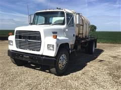 1991 Ford L8000 S/A Water Truck