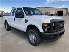 2010 Ford F250 XL Super Duty 4x4 Extended Cab Pickup