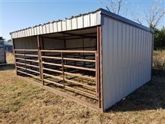 Crossroads Gated Livestock Shelter