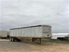 1989 Timpte Super Hopper T/A Hopper Bottom Grain Trailer