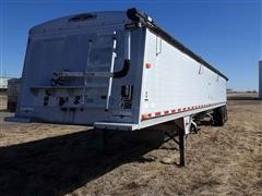 2002 Wilson Commander T/A Grain Hopper Trailer