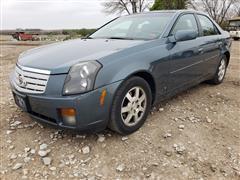 2006 Cadillac CTS 4 Door Sedan Car