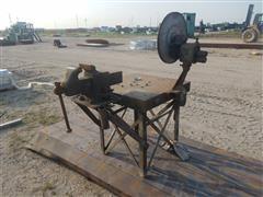 Heavy Duty Welding Table, Vise & Crimper