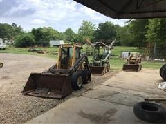 3 Skid Steers For Parts Only