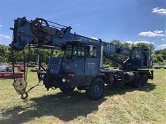 1990 Grove TMS250 Hydraulic Truck Crane