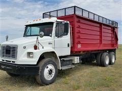 2001 Freightliner FL106 T/A Silage/Grain Truck w/Aulick 2167 Box