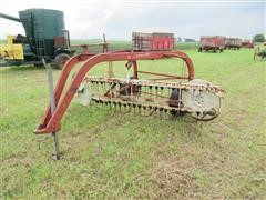 International 14 10' Side Delivery Rake