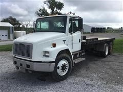 2002 Freightliner FL70 T/A Flatbed Truck