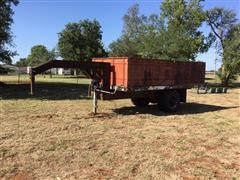 Shop Built 16' Hydraulic Dump Trailer