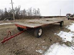"Shop Built ""Can Trail"" 8' X 20' Hay Trailer"