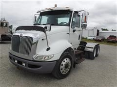 2013 International 8600 TranStar T/A Day Cab Truck Tractor