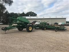 John Deere 1850 Air Seeder W/ 787 Commodity Cart
