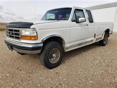 1992 Ford F250 4X4 Extended Cab Pickup