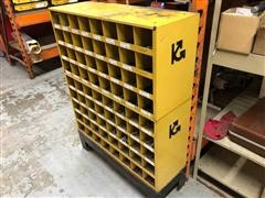 Karr Storage Bins W/Contents