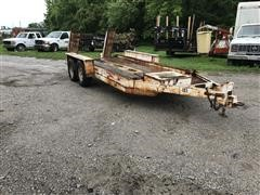 T/A Flatbed Trailer