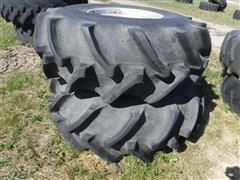 Goodyear 23.1 X 26 Rice Tires W/Rims