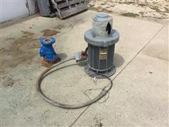 General Electric Irrigation Water Pump