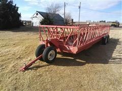 Apache T/A Bale Feed Wagon