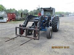 1982 Ford 4600 2WD Tractor W/Loader