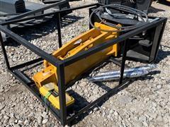2018 750 Hydraulic Breaker w/ Skid Steer Mount Plate