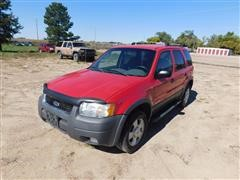 2001 Ford Escape XLT 4 Door SUV