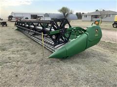 2014 John Deere 635D HydraFloat Draper