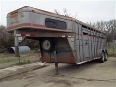 1997 Trailmann Livestock Trailer