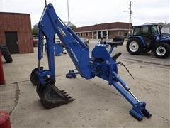 New Holland 759C 3-Point Backhoe Attachment