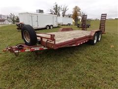 2006 Load Trail T/A Flatbed Trailer