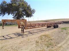 2012 Atchison Gooseneck Super Sixteen T/A Bale Hauler Trailer