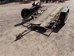 1971 Homemade 6'X8' S/A Tilt Bed Trailer