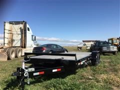 2018 Southland Bumper Pull T/A Flatbed Trailer