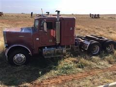 "1980 Freightliner FLC120 T/A Truck Tractor W/30"" Sleeper (INOPERABLE)"