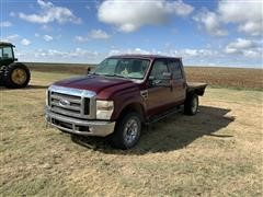 2008 Ford F350 4x4 Crew Cab Short Bed Pickup