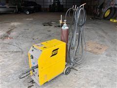 Esab MigMaster 250 Wire Welder On Cart