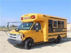 1999 Chevrolet 3500 Blue Bird Dually Bus W/Chair Lift