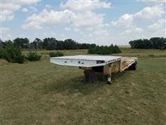 1975 Lutt Drop Deck Trailer
