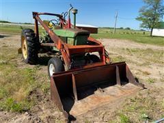 1966 John Deere 2510 2WD Tractor W/Loader