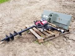 2019 Douglas Skid Steer Posthole Digger