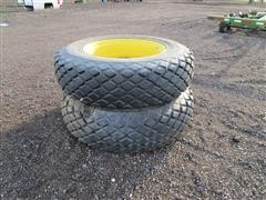 Goodyear 18.4-38 Turf Tires With Rims